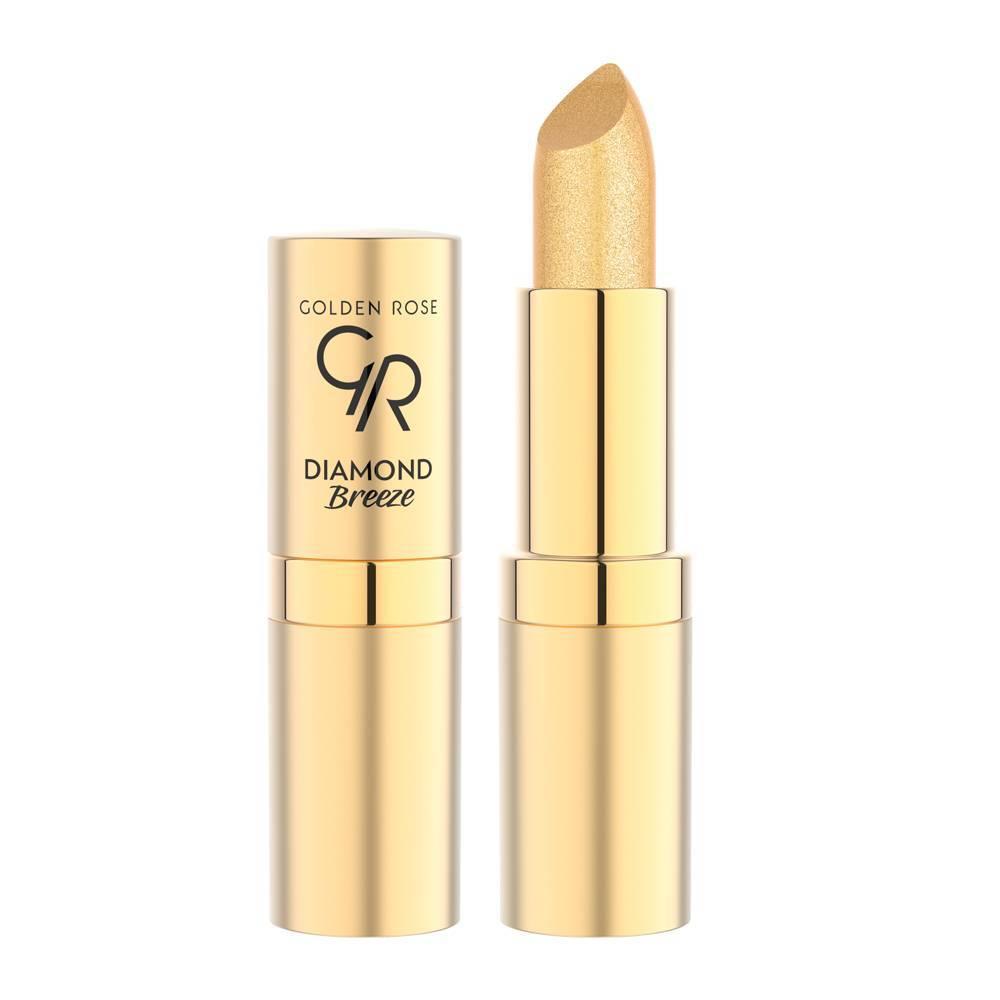 Golden Rose Diamond Breeze Shimmering Lipstick 01 24K Gold