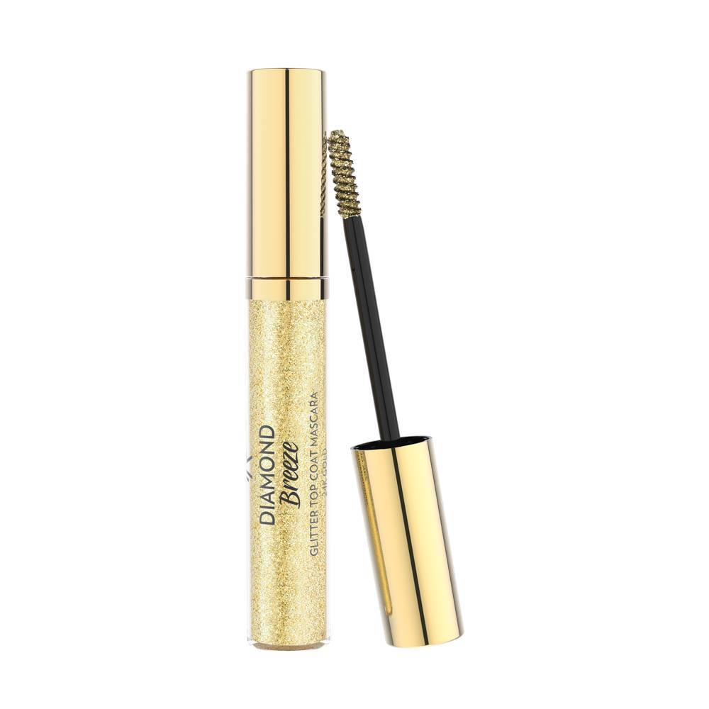Golden Rose Diamond Breeze Glitter Topcoat Mascara 24K Gold
