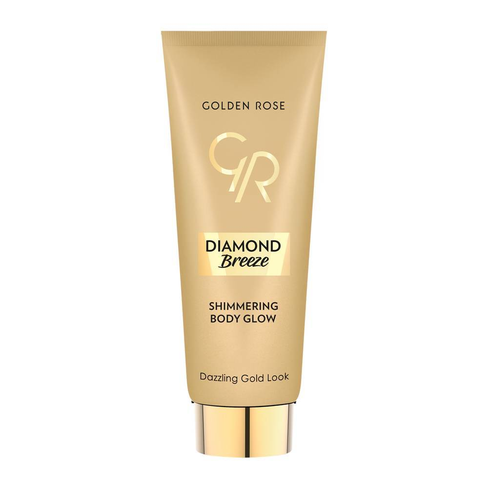 Golden Rose Diamond Breeze Shimmering Body Glow Gold