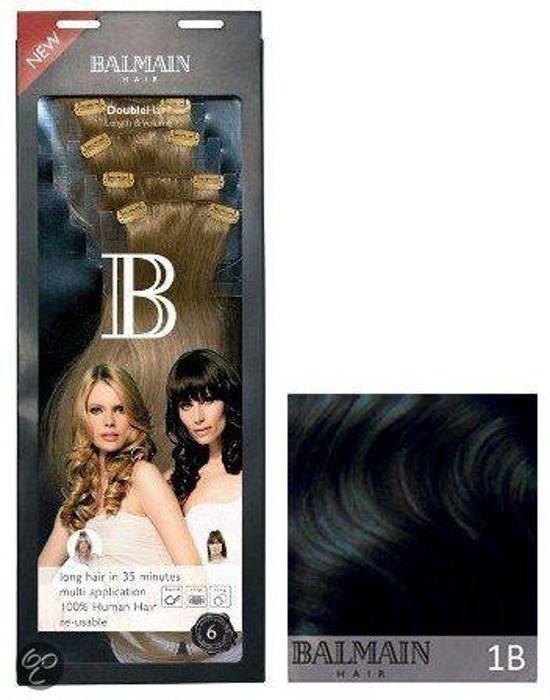 Balmain Double Hair Lenght & Volume 40Cm 1B