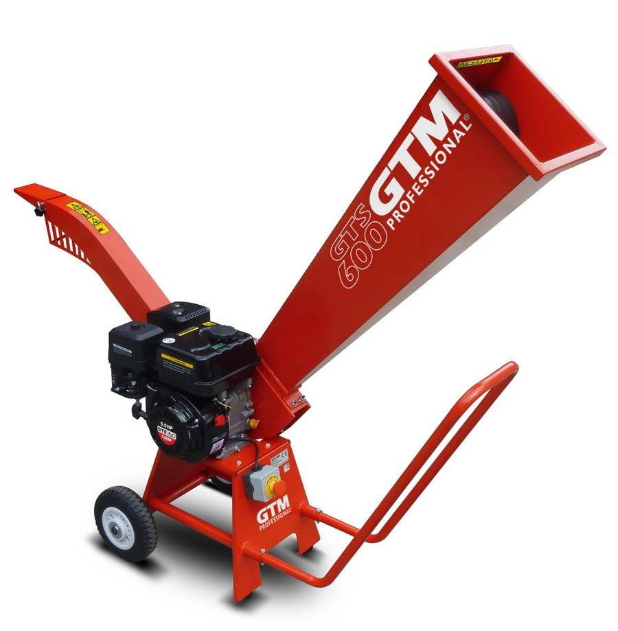 GTM GTM GTS600G Houtversnipperaar (benzine)