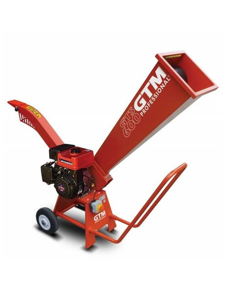 GTM GTM (prof) GTS600M Houtversnipperaar (benzine) Mitsubishi motor
