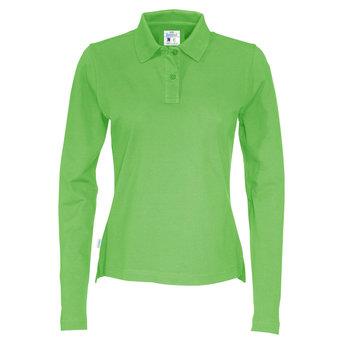 COTTOVER Poloshirt Pique 100% ecologisch katoen LM dames