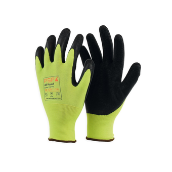 Allround 10-125 Latex Lite Pro Hi-Vis 12 paar