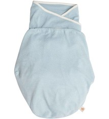 Ergobaby Ergobaby Inbakerdoek Swaddler Light Weight - Blue