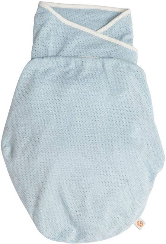 Ergobaby Ergobaby Inbakerdoek Swaddler Light Weight - Blue