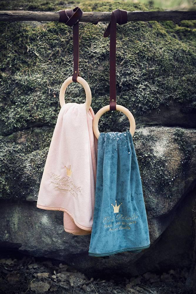 Elodie Details Elodie Details Pearl Velvet Decke - Plum Love
