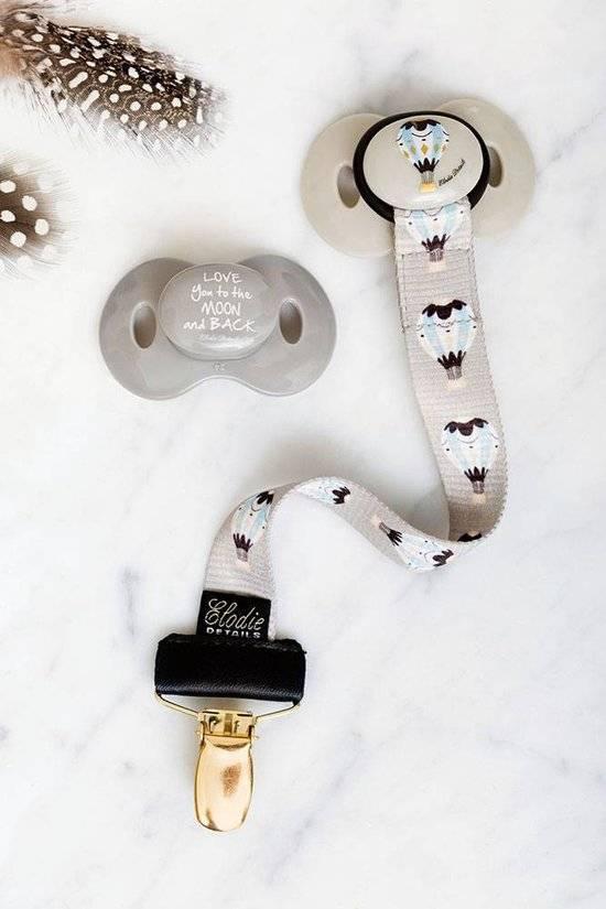Elodie Details Elodie Details Schnuller 3m + Powder Pink
