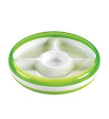 OXO tot OXO tot Bord met 3 vakjes - Green