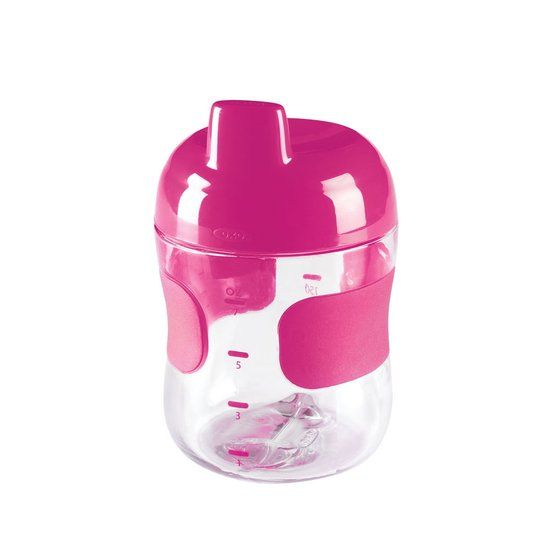 OXO tot OXO tot Kleine sippy beker (200 ml) - Pink