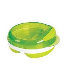 OXO tot OXO tot Voedingsbord met 2 vakjes - Green