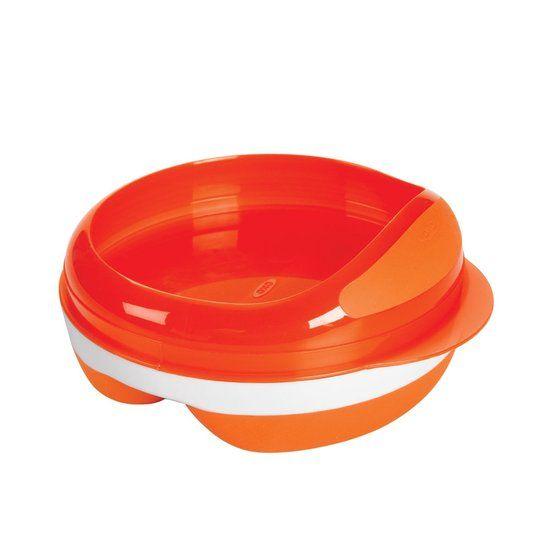 OXO tot OXO tot Voedingsbord met 2 vakjes - Oranje
