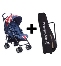 Easywalker MINI by Easywalker buggy - Union Jack Vintage + Easywalker transport Tas