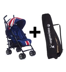 Easywalker MINI by Easywalker buggy - Union Jack Classic + Easywalker transport Tas