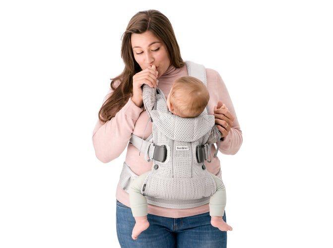 BABYBJÖRN BABYBJÖRN Babytrage One Air  - Anthrazitgeflecht