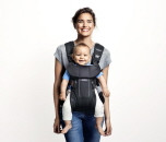 BABYBJÖRN BABYBJÖRN Baby Carrier One   - Grauer Denim / Dunkelgrau, Baumwollmischung