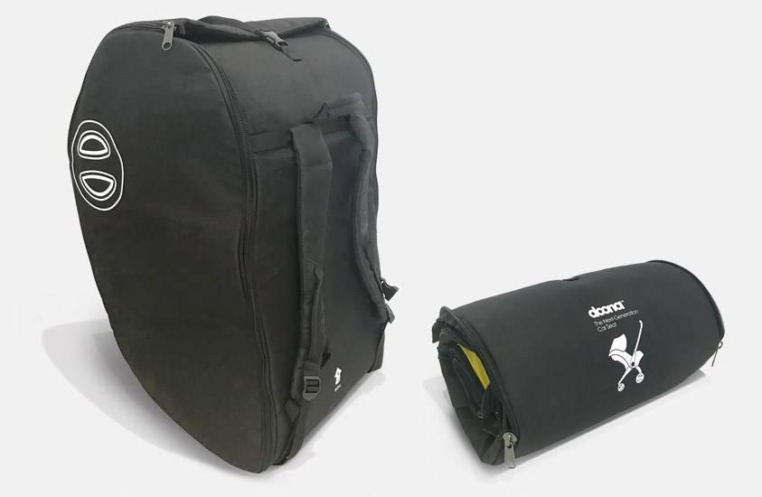 Doona Doona Travel bag / Reistas gewatteerd