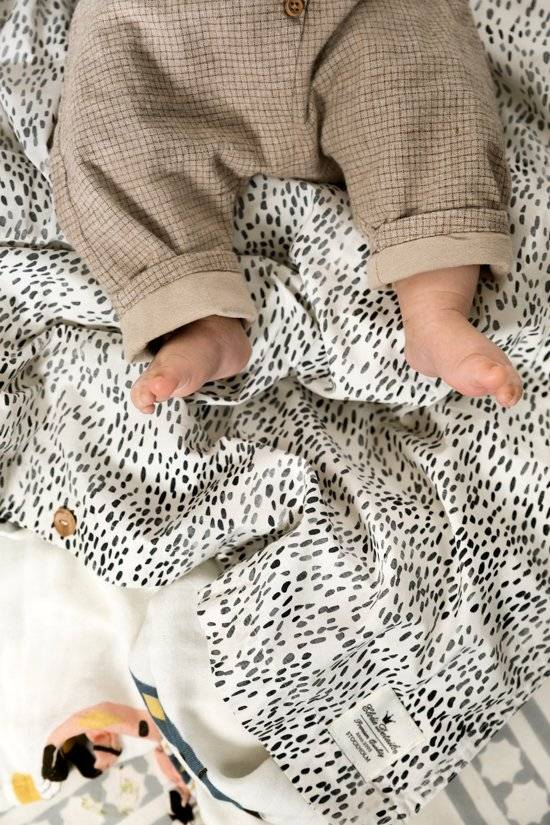 Elodie Details Elodie Details Bettwäscheset (Bezug + Kissenbezug) Punkte der Fauna