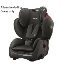 Recaro RECARO Young Sport Hero Performance black vervangende bekledingsset
