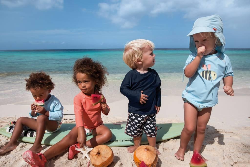 Lässig Lässig Splash & Fun Swim Zwemluierbroekje & Hoedje Setje Sun 18 maanden