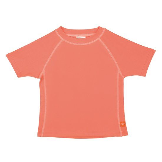 Lässig Lässig Splash & Fun Korte mouw Rashguard / zwemshirt - peach