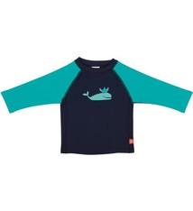 Lässig Lässig Splash & Fun lange mouw zon- en zwemshirt. Blue Whale