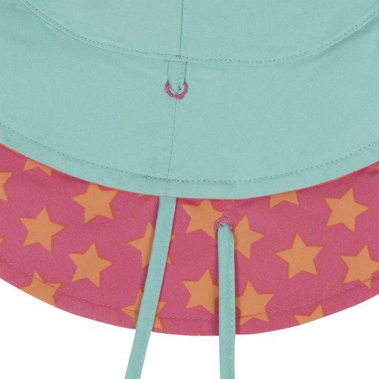 Lässig Lässig Splash & Fun Sun Protection Vissershoedje - peach stars