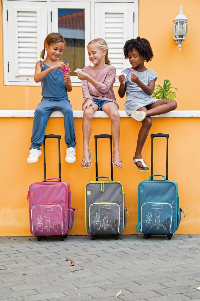 Lässig Lässig Trolley About friends melange blauw