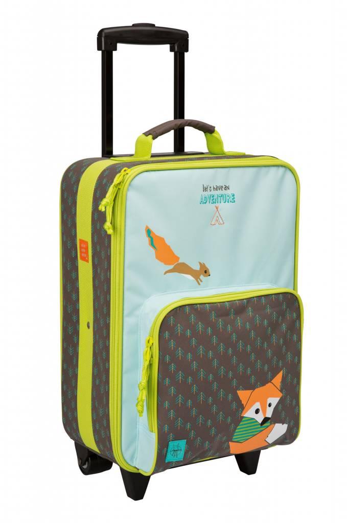 Lässig Lässig trolley little tree fox blue