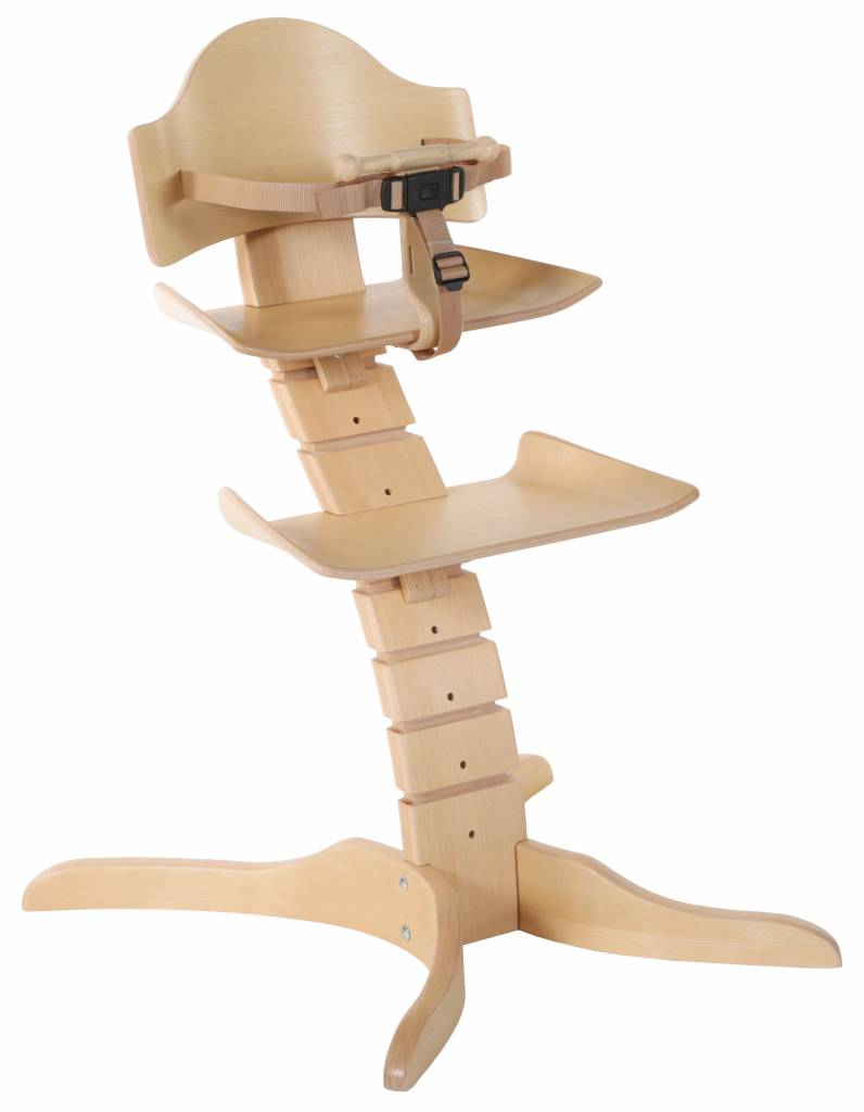 Treppy TREPPY SPINNY HIGHCHAIR KINDERSTOEL NATURAL