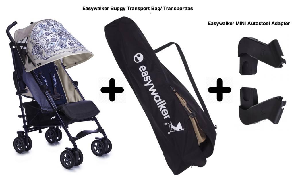 Easywalker Easywalker Mickey Ornament + Transport Tas + Autostoel Adapters
