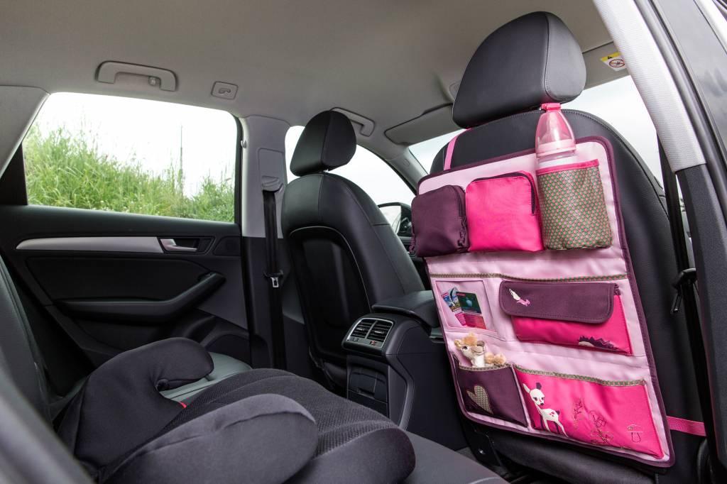 Lässig Lässig Auto wrap-to-go / organizer little tree fawn rose