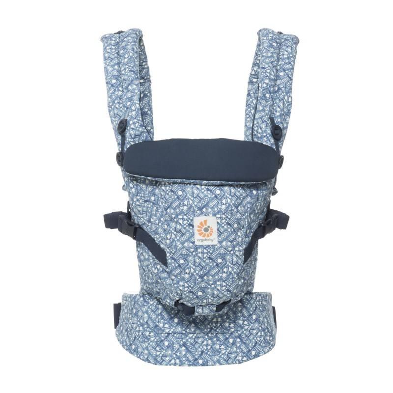 Ergobaby Ergobaby Babydraagzak 3P Adapt - Mesh Batik Indigo