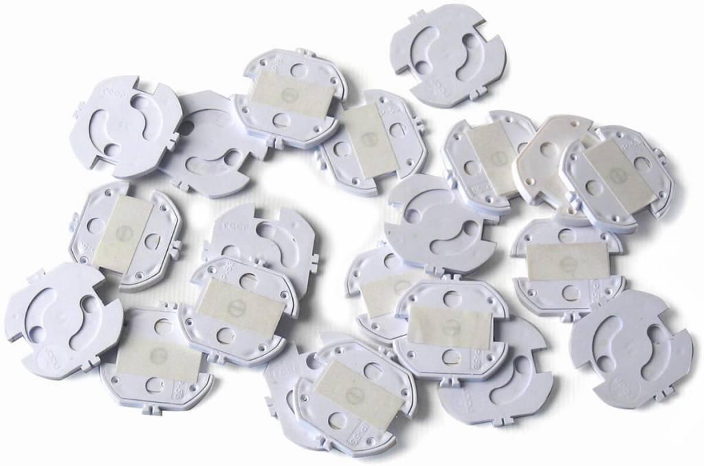 Reer Reer zelfklevende stopcontact beveiliging 20 stuks