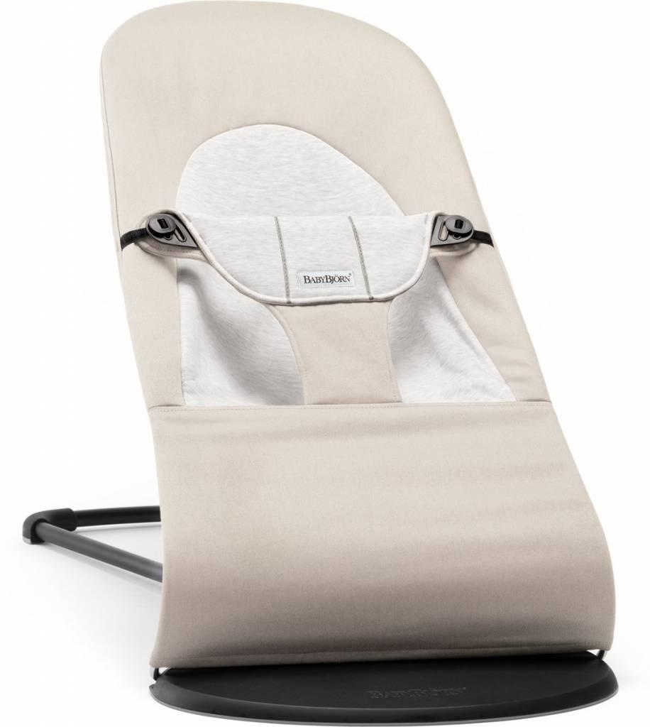 BABYBJÖRN BABYBJÖRN Baby Türsteher Balance Soft Beige Grau Baumwoll Jersey