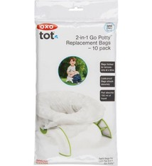 OXO tot Oxo Tot 2 in 1 potty - replacement set 10 pack