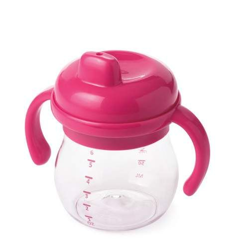 OXO tot Oxo Tot Transitions Sippy Cup with Handles (180 ml) Pink