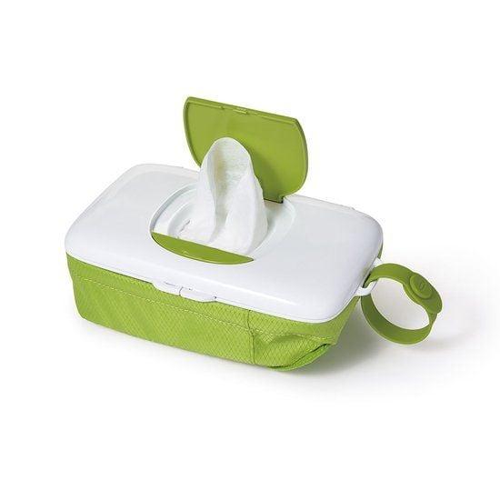 OXO tot Doekjesverdeler voor onderweg - Green - met luiertas