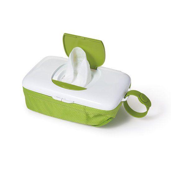 OXO tot OXO tot Doekjesverdeler voor onderweg - Green - met luiertas