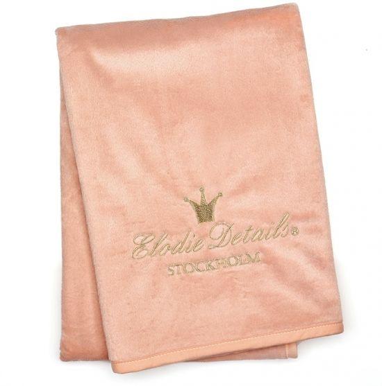 Elodie Details Elodie Details Pearl Velvet Decke Faded Rose