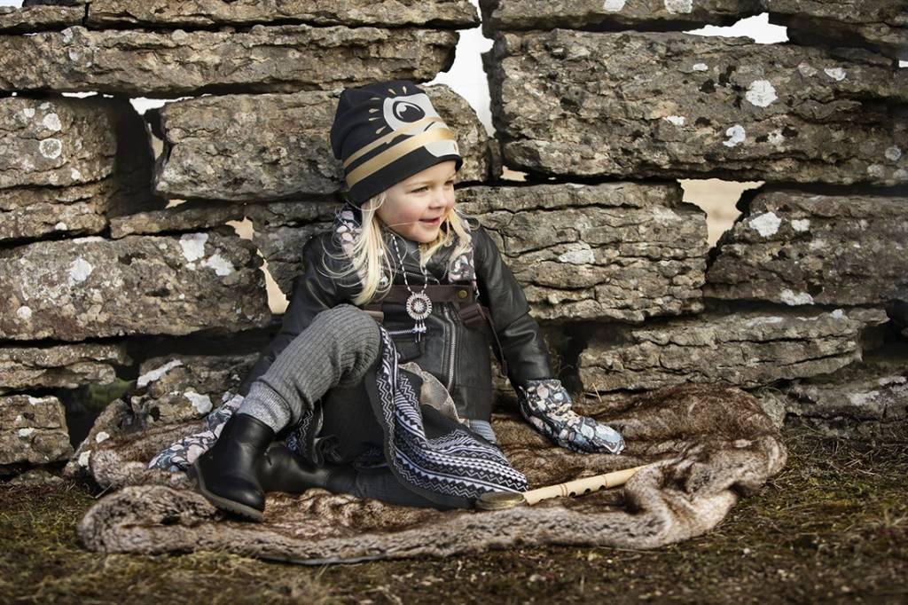 Elodie Details Elodie Details Winter Mutsje / Beanies Gilded Playful Pepe