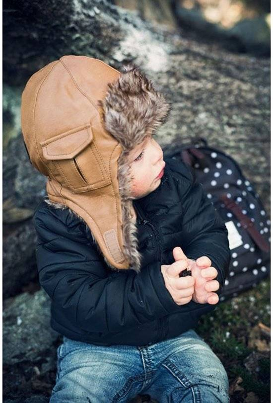 Elodie Details Elodie Details Caps Chestnut Leather 1-2y