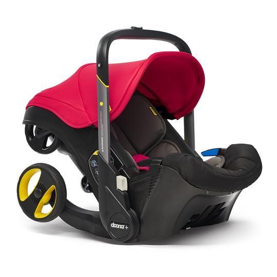 Doona Doona autostoel en buggy in één: Flame Red