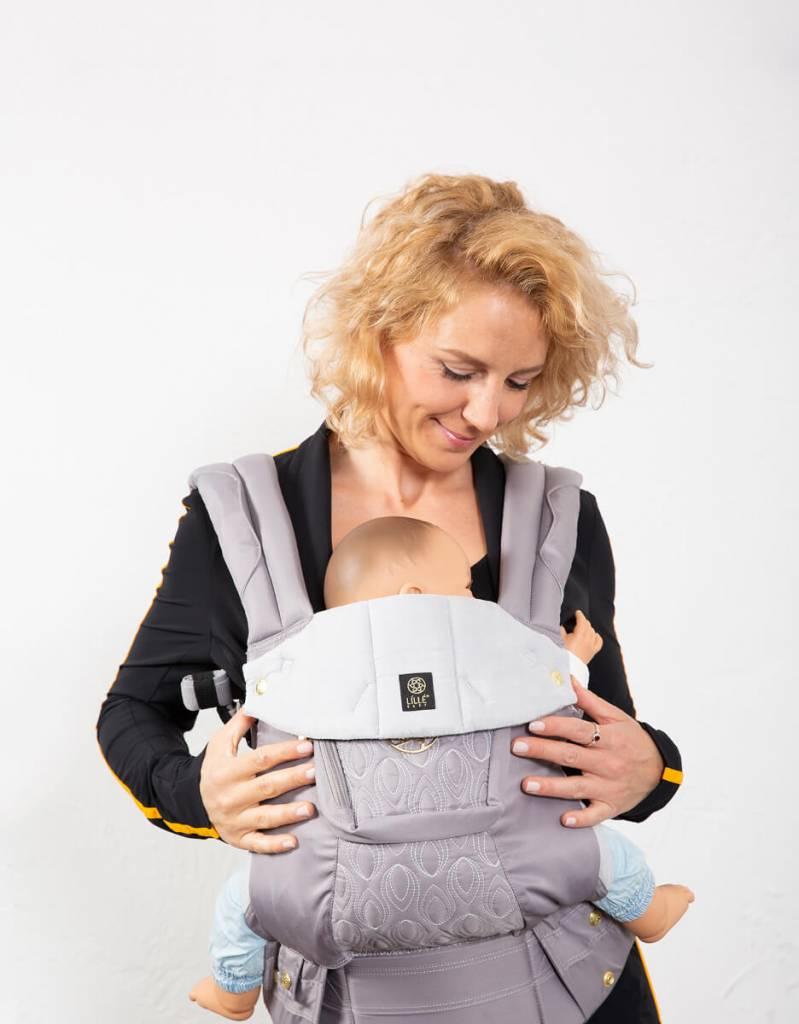 Lille Baby Lille Baby Carrier Komplett geprägtes Zinn
