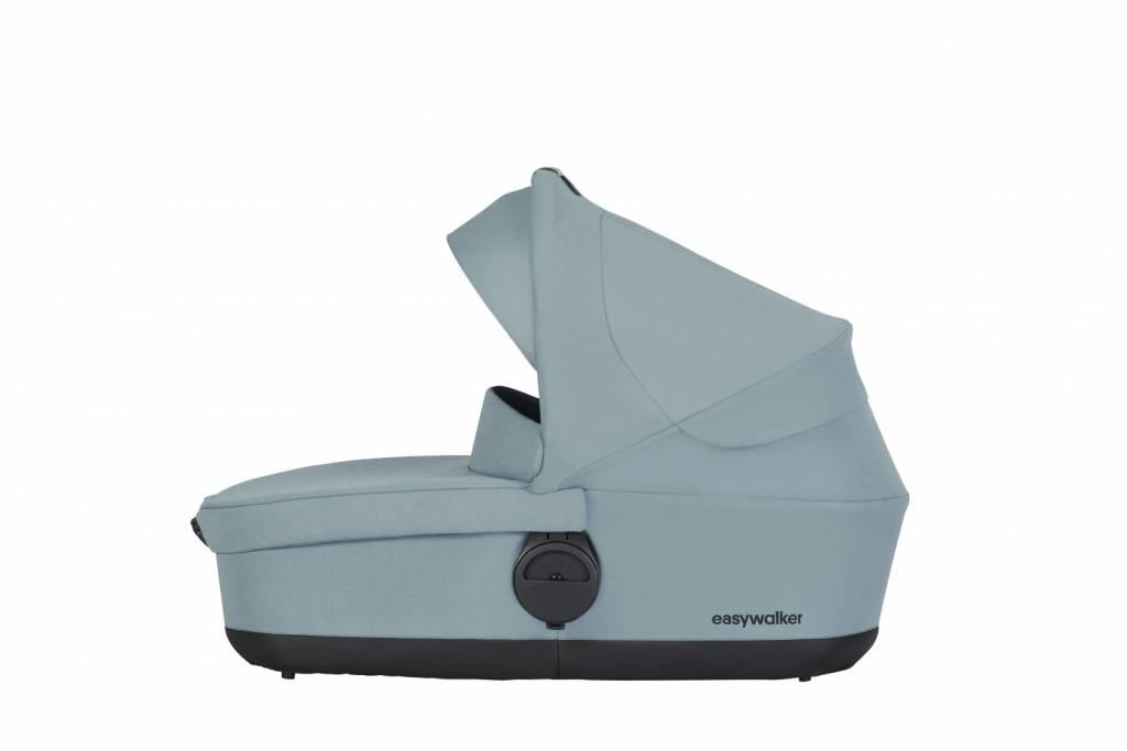 Easywalker Easywalker Charley Kinderwagen + Reiswieg + Voetenzak + Autostoel-adapter en Hoogte-adapter Glacier Blue