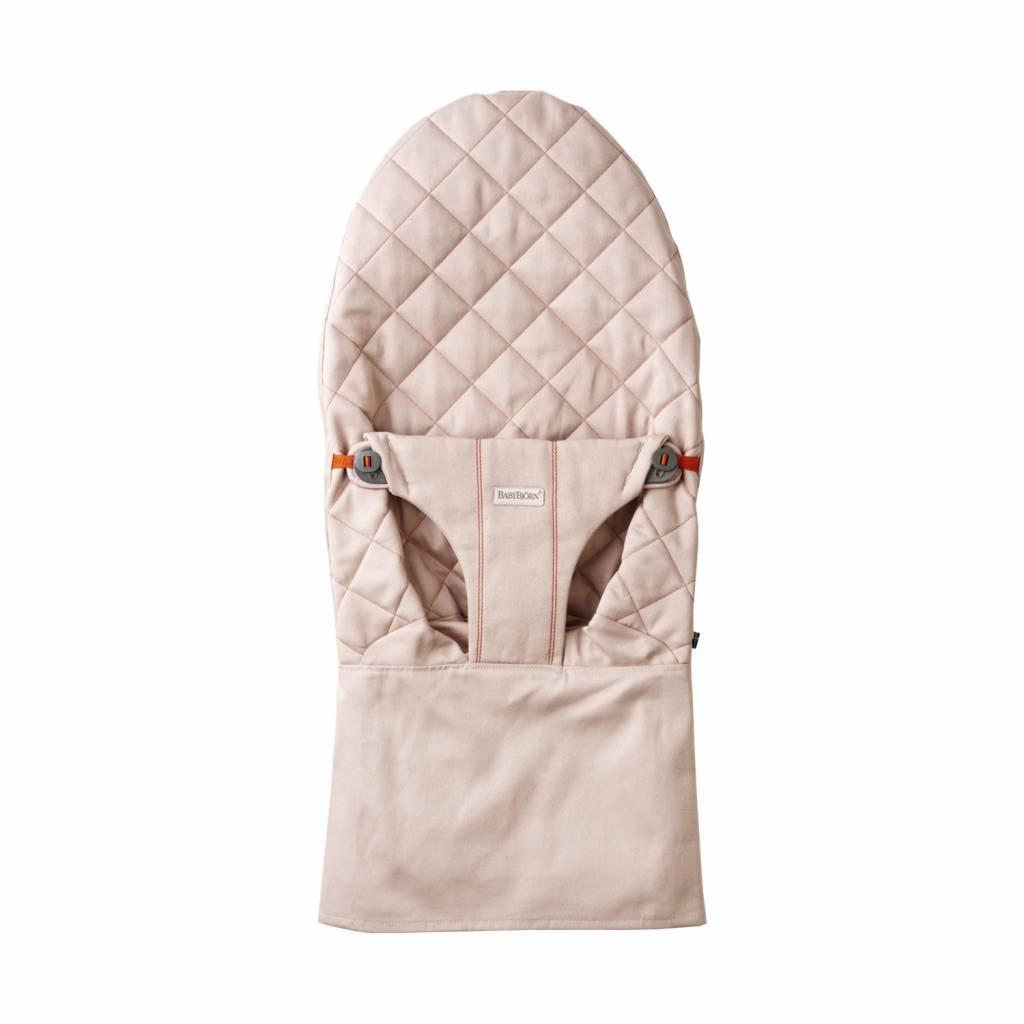 BABYBJÖRN BABYBJÖRN Stoffsitz für Baby-Türsteher - Dusty Pink Cotton