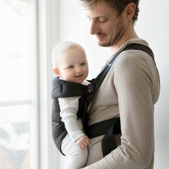 BABYBJÖRN BABYBJÖRN Babytrage Mini Black Cotton