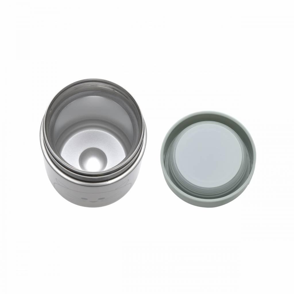 Lässig Lässig Food Jar (isotherme Vorratsdose) für Babynahrung Little Chums Cat