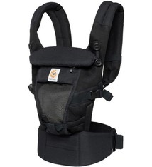 Ergobaby Ergobaby Babytrage 3P Adapt - Cool Air Mesh - Onyx Schwarz