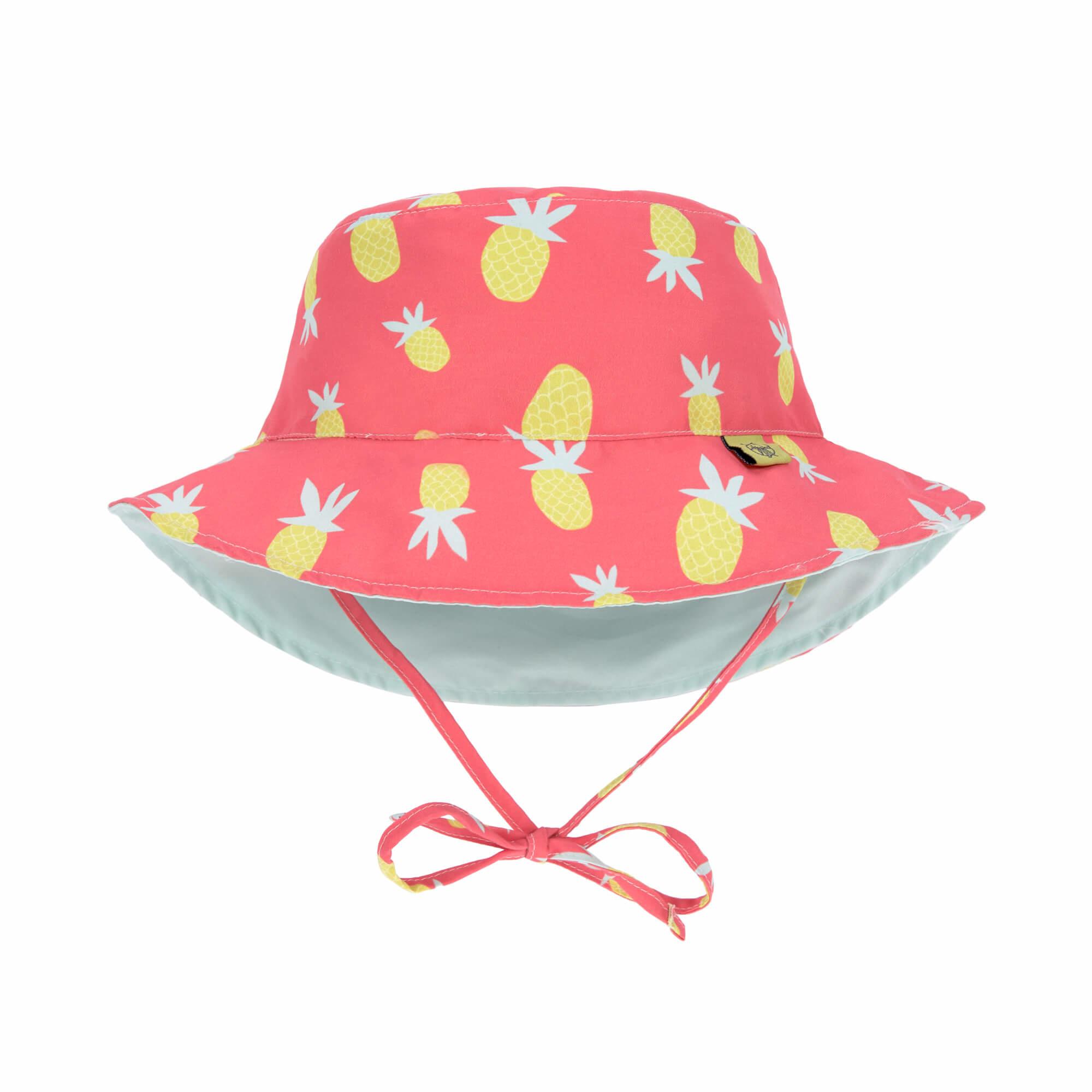 Lässig Lässig Splash & Fun Sun Protection Vissershoedje Pineapple 0-6 mnd